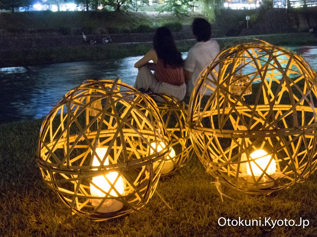 京の七夕 鴨川会場